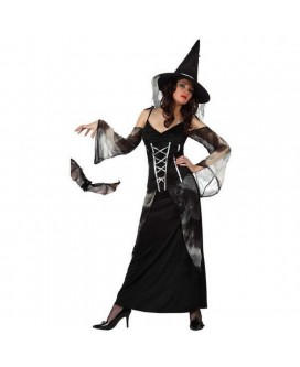 Disfraz de BRUJA, HALLOWEEN, para adultos, mujeres -