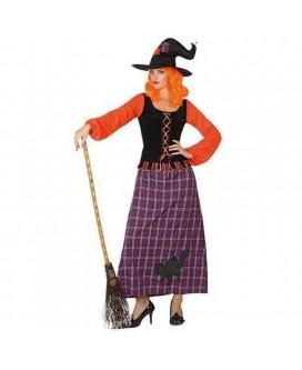 Disfraz de BRUJA, HALLOWEEN, para adultos, mujeres - DI1103899-1