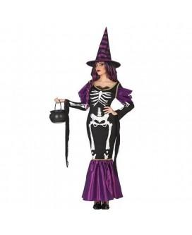 Disfraz de BRUJA, HALLOWEEN, para adultos, mujeres - DI1106076-1