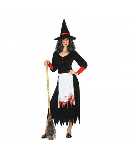 Disfraz de BRUJA, HALLOWEEN, para adultos, mujeres - DI1106163-1