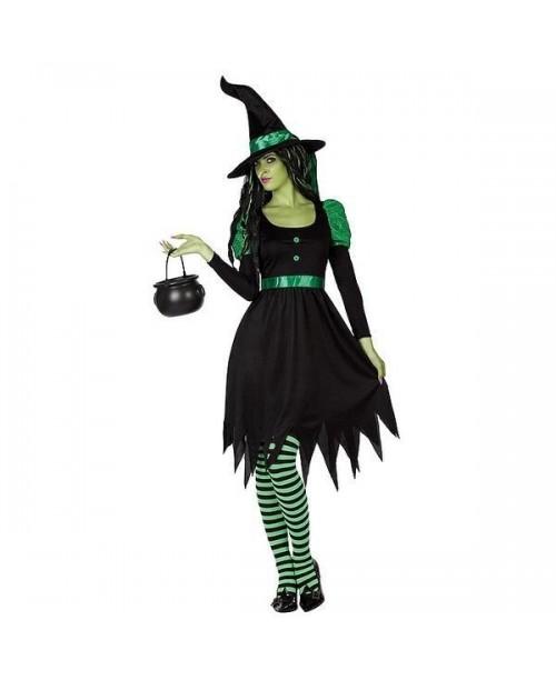 Disfraz de bruja para HalloweenDisfraz para adultosDisfraces para Halloweenmujeres695