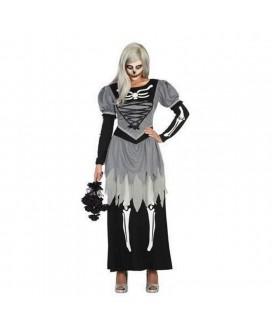 Disfraz de ESQUELETO / ESPECTRO, HALLOWEEN, para adultos, mujeres - DI1104687-1