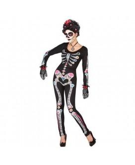 Disfraz de ESQUELETO / CATRINA, HALLOWEEN, para adultos, mujeres - DI1106055-1
