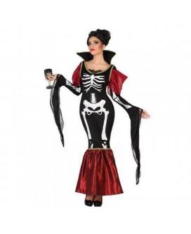 Disfraz de ESQUELETO, HALLOWEEN, para adultos, mujeres - DI1106073