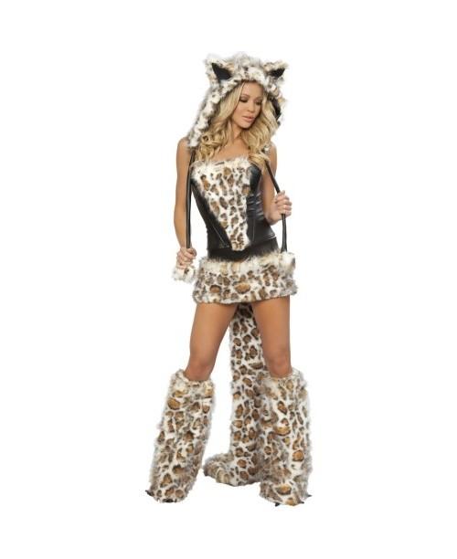Sexy disfraz de leopardo