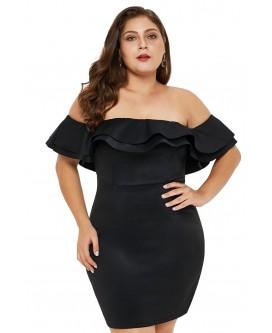 Sexy VESTIDO en tallas grandes - VE220546-2-1